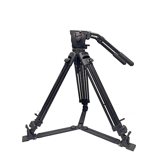 Arriendo de Trípode para Video Manfrotto 515MVB con Cabezal 516