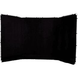 Arriendo de Fondo Lastolite Panorámico Negro 2,3x4mt