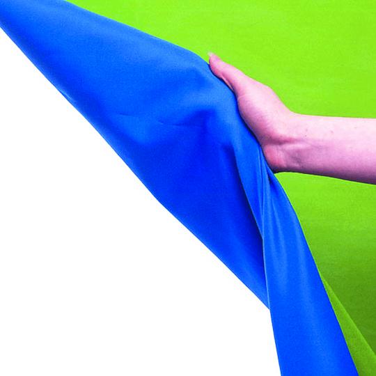 Arriendo de Croma Key Lastolite Reversible Verde/Azul 3x7mt
