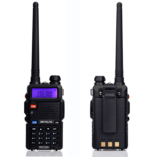 Arriendo de Pack de 2 Radio Transmisores Portátiles Retevis RT-5R