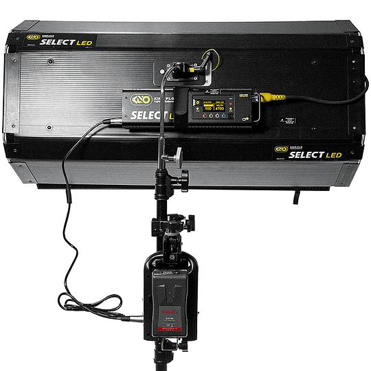 Arriendo de Fuente de Poder Dual Fxlion con 2 V-Mount 130w/h