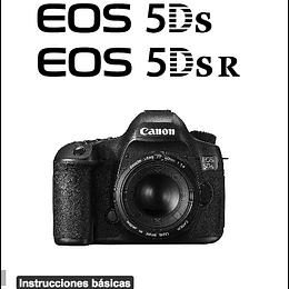 Guia Rapida Camara Canon 5ds o 5dsr