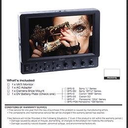 Guia Rapida monitor Ikan VK7i HDMI