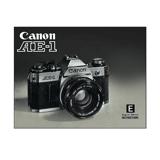 Manual Camara Canon AE-1