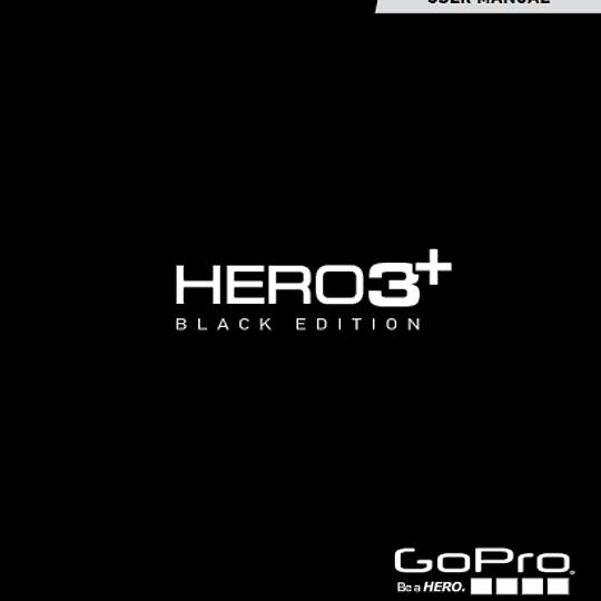 Manual Camara Gopro Hero 3+ Black Edition