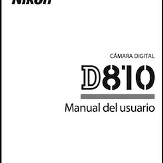 Manual de Camara Nikon D810