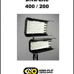 Manual Diva Lite 400/200