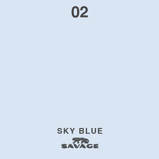 VENTA: Savage Fondo de Papel SKY BLUE COD: SAV02