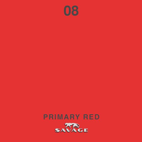 VENTA: Savage Fondo de Papel PRIMARY RED CHICO #08