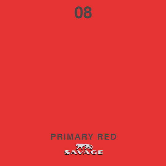 VENTA: Savage Fondo de Papel PRIMARY RED, COD: SAV08