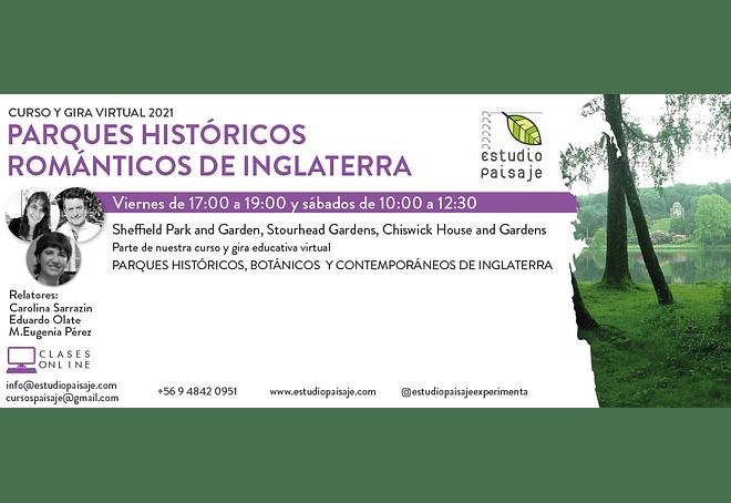 CURSO Y GIRA PARQUES ROMÁNTICOS DE INGLATERRA