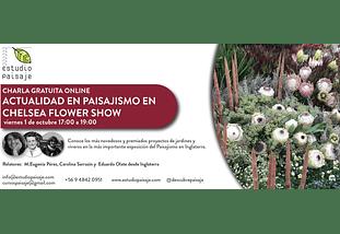 CHARLA GRATUITA ONLINE ACTUALIDAD EN PAISAJISMO EN CHELSEA FLOWER SHOW