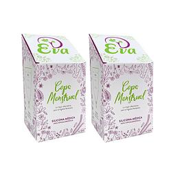 KIT: Dos Copas Menstruales Eva