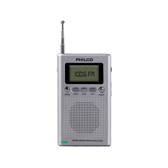 Radio Portátil Digital Philco ICD50 AM-FM