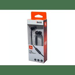 Audifono in ear T110BK JBL