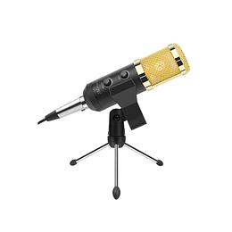Microfono condensandor BM800 USB  o MINIPLUG  (se puede cambiar a cable xlr xlr)