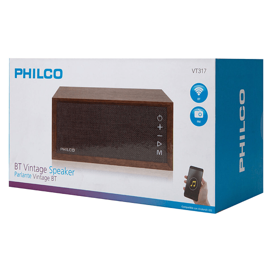Radio vintage bluetooth VT317 Philco