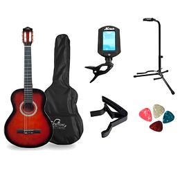 Pack de guitarra clasica ST mas accesorios