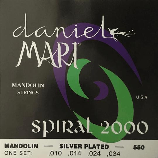 Set Cuerdas Mandolina Daniel Mari Spiral 2000