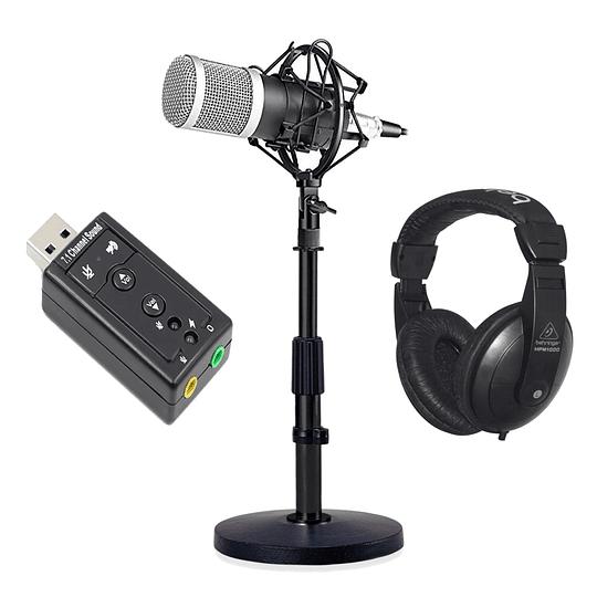 Microfono condensador Bm800 Pack