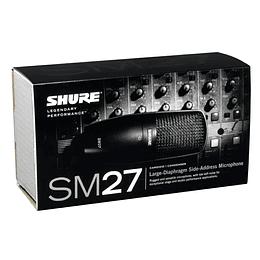 Microfono condensador Shure SM27 LC