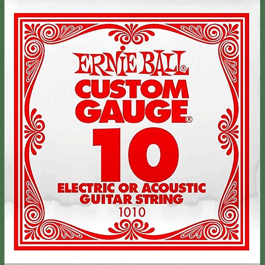 Cuerda Suelta Ernie Ball 010 Guitarra Electrica