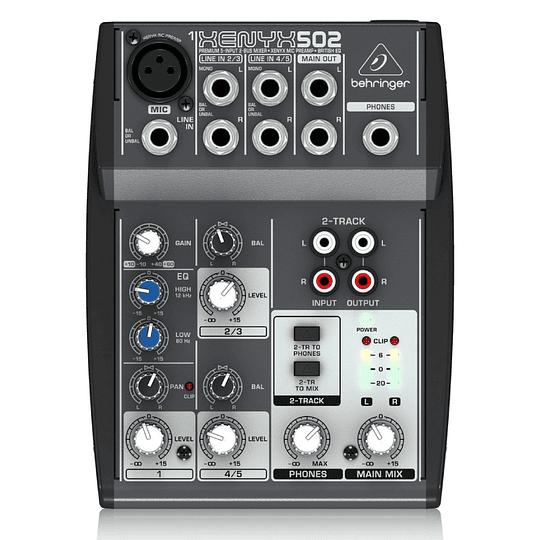 Consola analoga  Xenyx 502