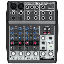 Consola Behringer Xenyx 802
