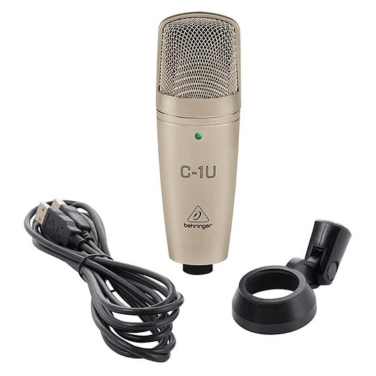 Microfono condesandor ubs C1U Behringer