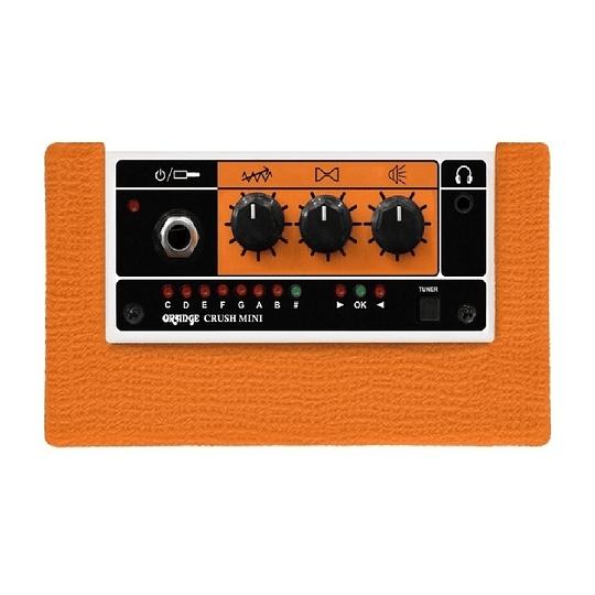 Orange Crush Mini Amplificador De Guitarra De 3 Watts