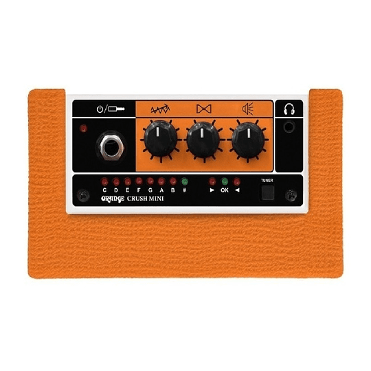 Orange Crush Mini Amplificador De Guitarra De 3 Watts
