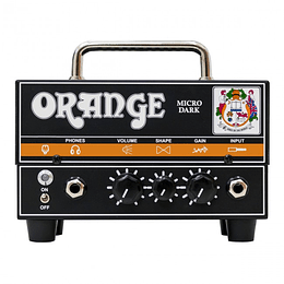 Orange cabezal de guitarra Dark Hibrido 20 watts