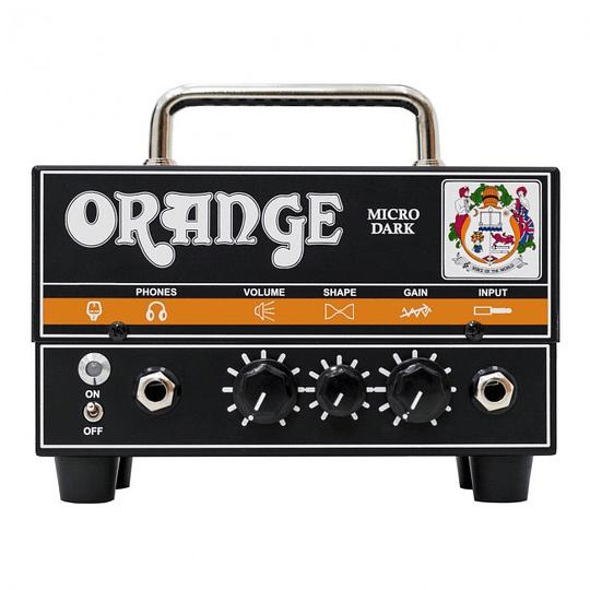 Orange gabinete de guitarra Dark Hibrido 20 watts
