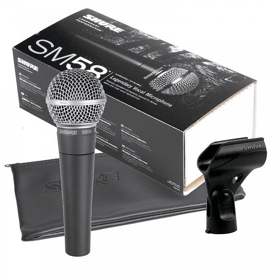SHURE Micrófono dinámico SM58LC