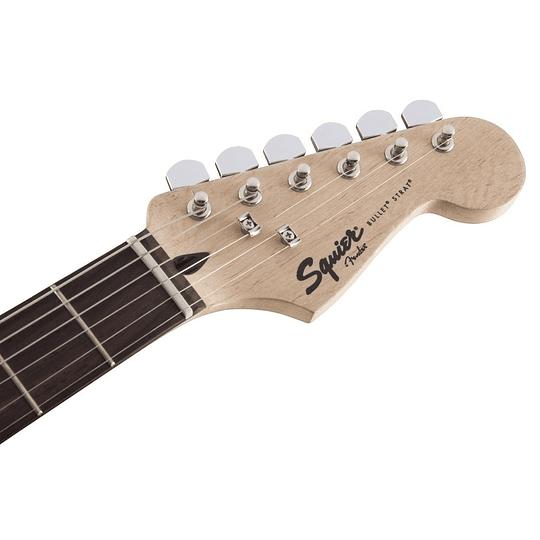 Guitarra electrica Squier strat bullet negra