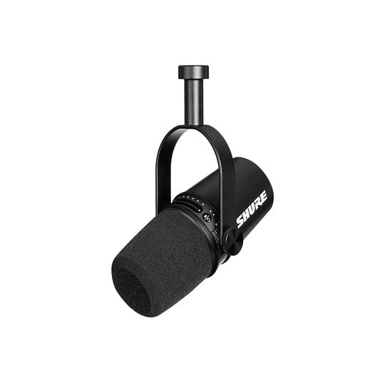 Microfono Podcasting MV7 negro