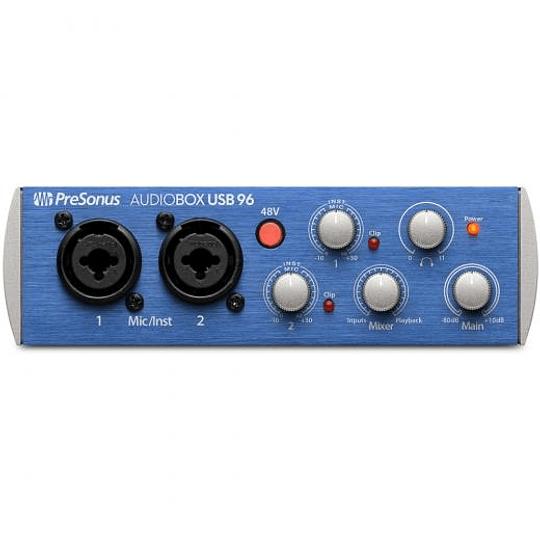 Interfaz Audiobox Usb 96 Studio 2x2 Usb