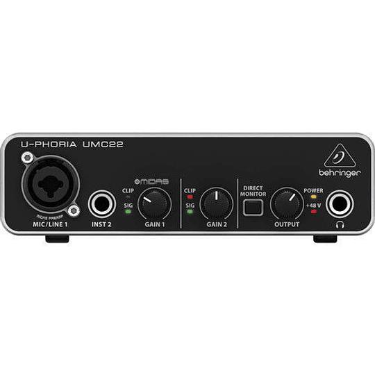 Interfaz de audio Umc22