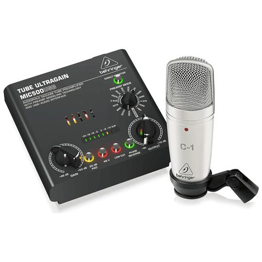 Pack De Grabacion Voice Studio Behringer