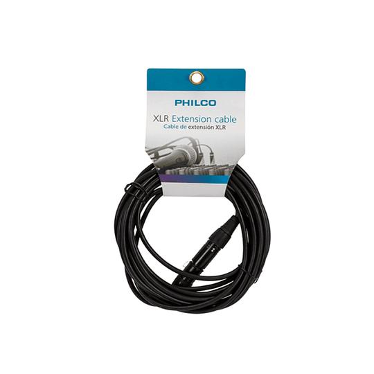 Cable Xlr Xlr 3 Mts Philco 26MICMC003