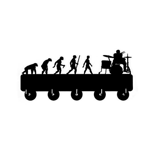 Colgador De Llaves Evolucion Baterista Epic
