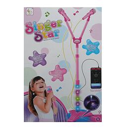 Microfono Rock Star para niños EVZ