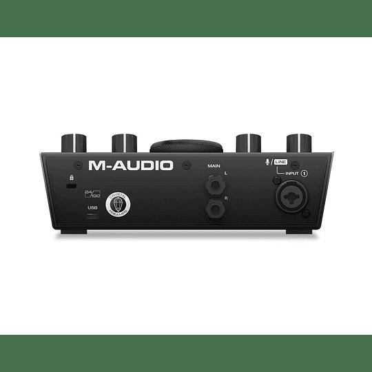 Interfaz de audio AIR 192 4 M-Audio