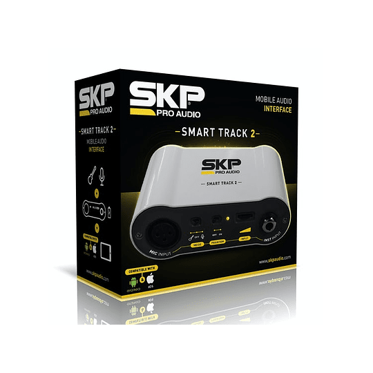 Interfaz de audio Smart Track 2 Skp