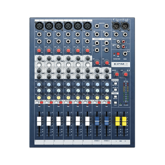 Consola analoga EPM6  soundcraft