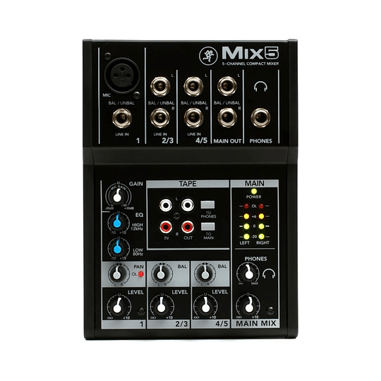 Consola analoga MIX5 mackie
