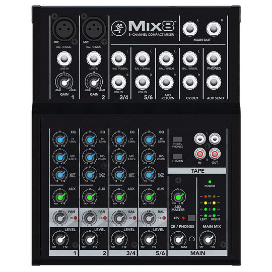 Consola analoga mix8 Mackie