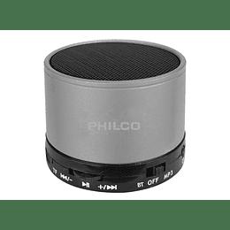 Parlante portatil bluetooth P295 plata Philco