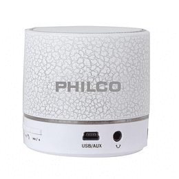 Parlante portatil bluetooth 325wh blanco Philco