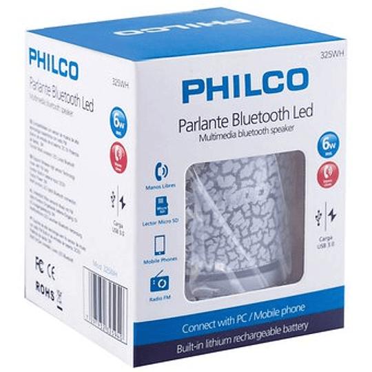Parlante portatil bluetooth 325wh blanco Philco